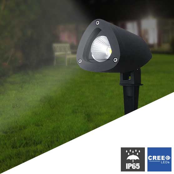 focos jardin led finest lamparas solares led with focos