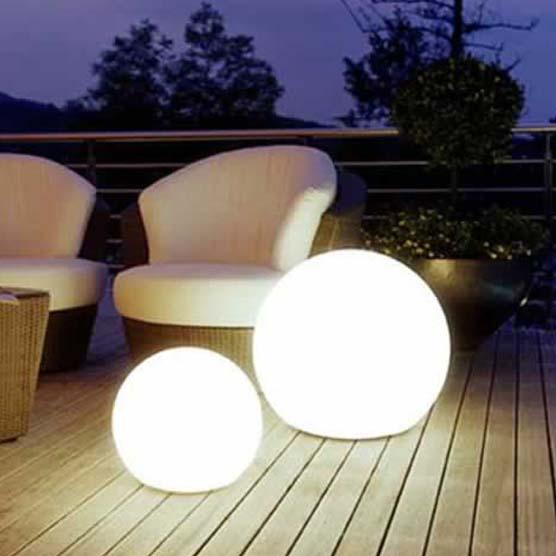 Iluminaci n led para exteriores luces para exterior for Focos iluminacion exterior