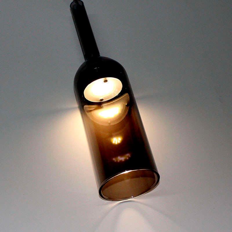 Lámpara colgante Led GLASS BOT 3W