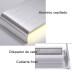 Aplique Led KLAN 410, 14W, silver, Blanco neutro