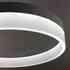 Luminaria colgante RING 28W, Ø40cm, Blanco cálido
