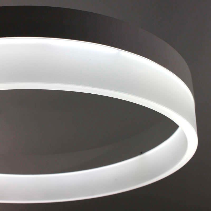 Luminaria colgante RING 43W, Ø60cm