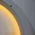 Luminaria colgante HOOP 36W, Ø45cm, Blanco frío