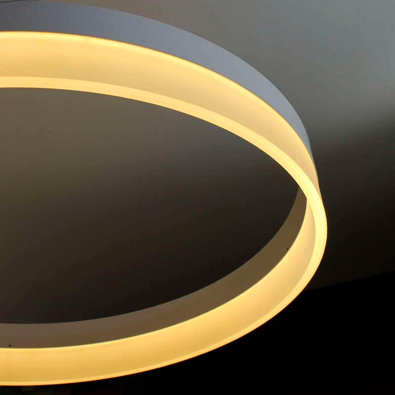 Luminaria colgante RING 73W, Ø100cm