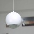 Luminaria colgante GLESNA blanco, 5W, Blanco frío