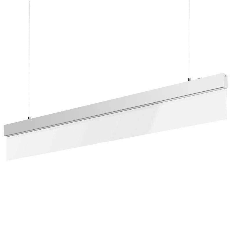 Lámpara LED Metacrilato PROLUX suspend, 50W, 120cm, Blanco cálido
