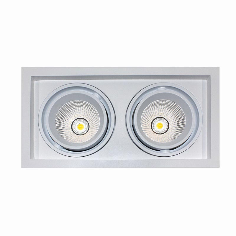 Downlight Led, KARDAN, 2 focos, 60W