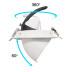 Downlight Led PRICKLUX TUBE 38W, Blanco frío
