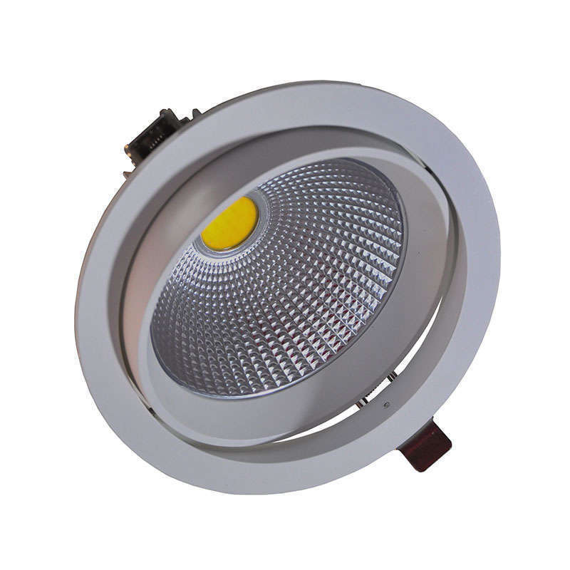 Downlight Led Round COB basculante 22W