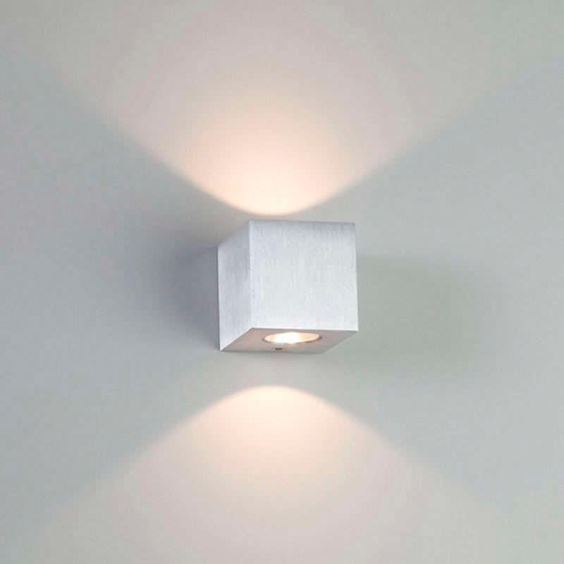aplique luz pared con led - antipaxos