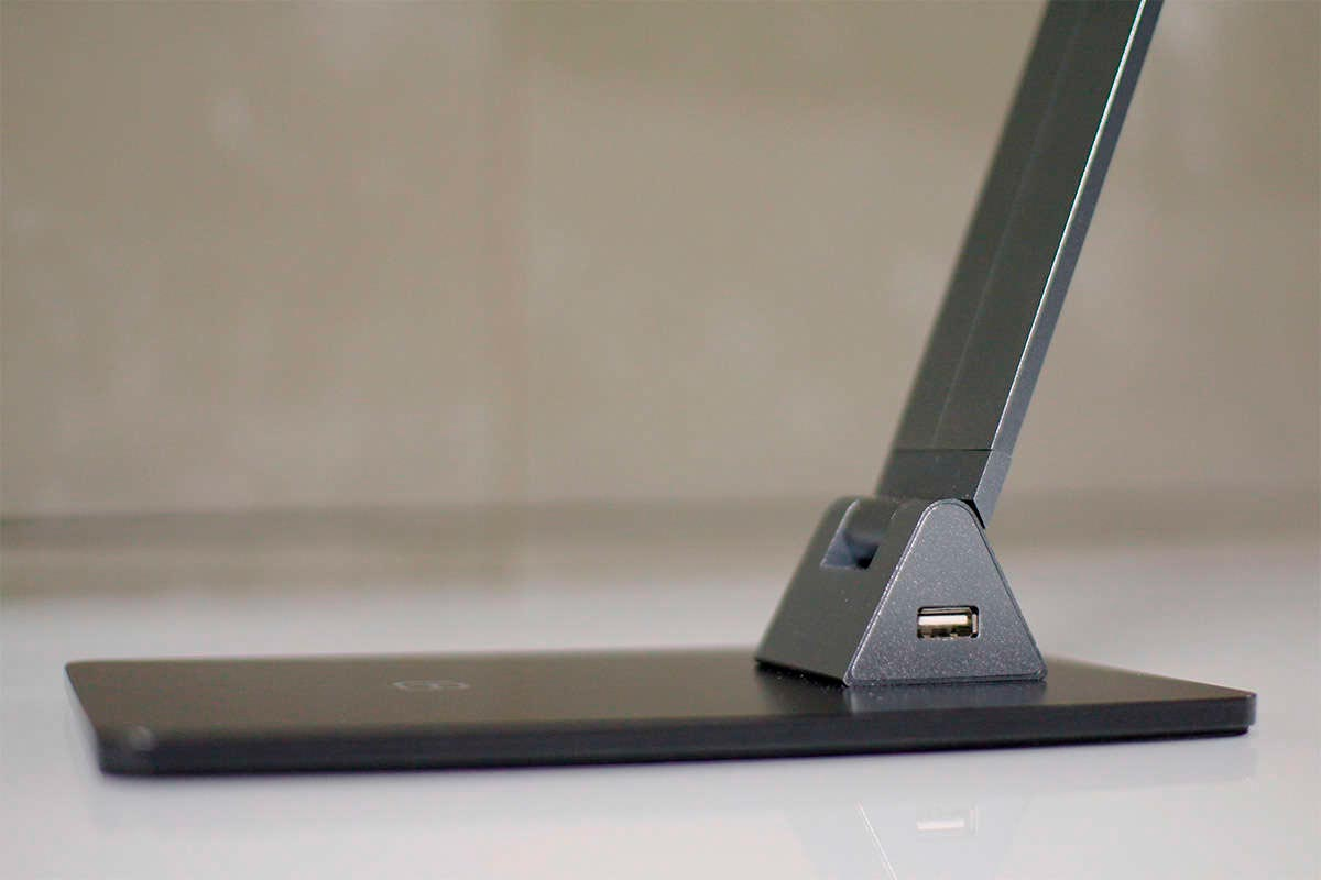 Lámpara de escritorio NIGA, silver