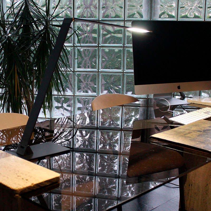 Lámpara de escritorio NIGA, antracita