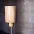 Lámpara Led de madera COPS, Blanco cálido
