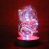 Fanal decorativo LED GELOO, regulable, Azul, Regulable