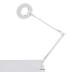 Flexo Led BRESSLO articulado, blanco, Blanco neutro, Regulable