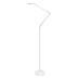 Lámpara de pie BRESSLO articulado, blanco, Blanco neutro, Regulable