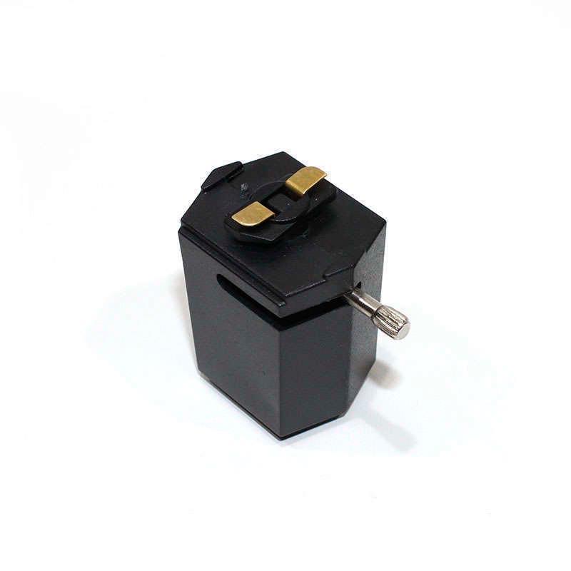 Conector foco a carril monofásico, negro