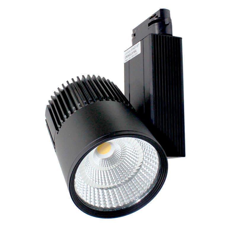 Foco carril CRONOLUX RAIL LED negro 35W