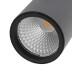 Foco carril Monofásico mini CRONOLUX RAIL LED negro 9W, Blanco cálido