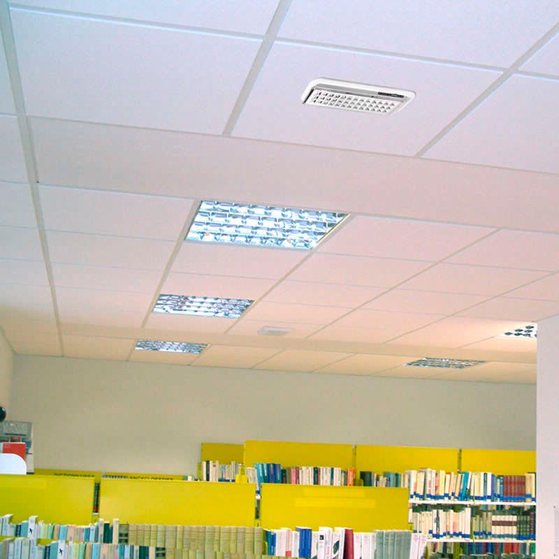 LED emergency lighting EMERLUX F310 recessed ceiling