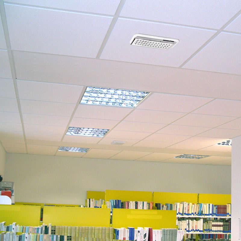Luz de emergencia Led EMERLUX F320 permanente empotrable techo