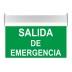 Luz LED de emergencia permanente SIGNALED PERSONALIZADO, Verde