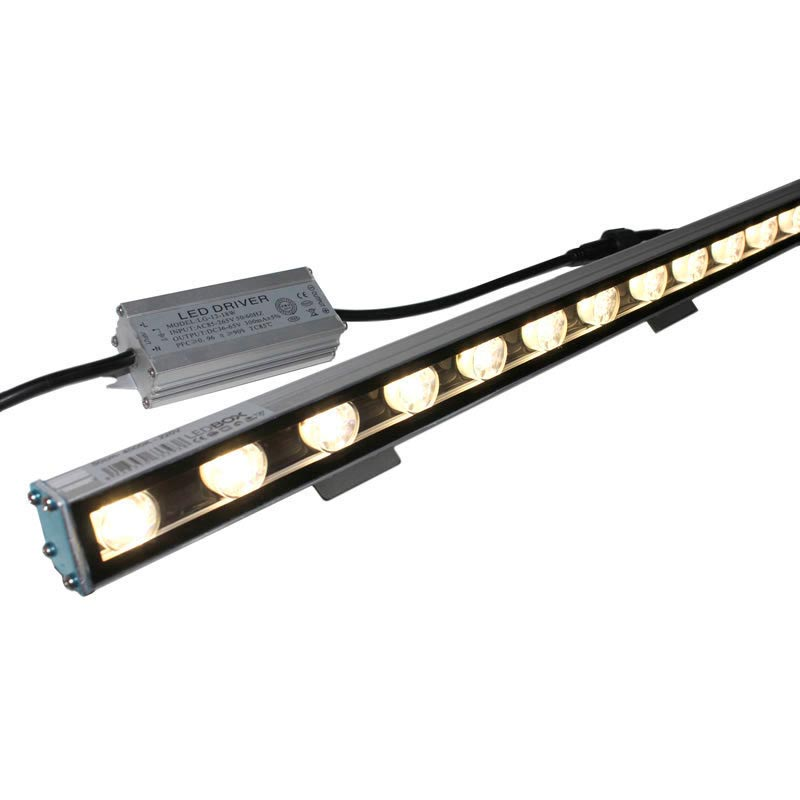 Proyector LED lineal, 24W, 220V, 1m