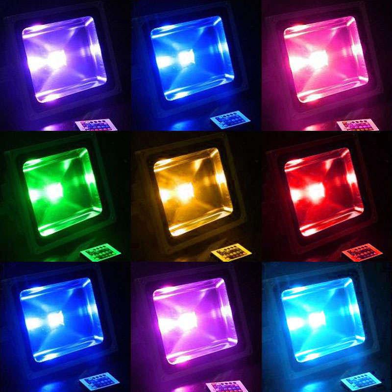 Proyector Led SLIM RGB, 50W