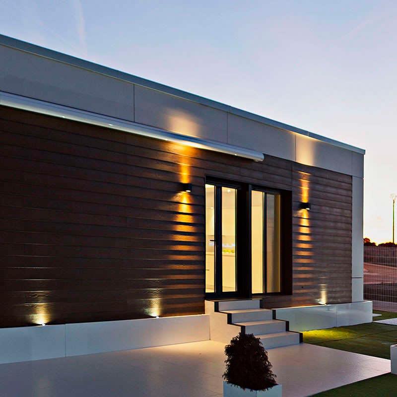 Aplique karpa apliques led exterior ledbox - Apliques exterior led ...