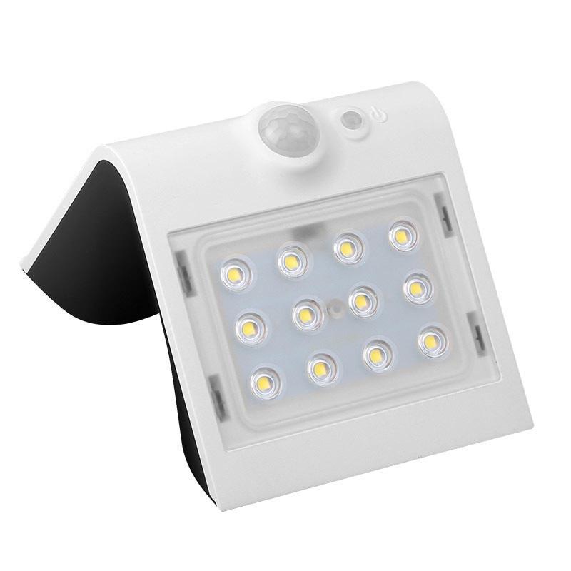 Aplique led solar peel blanco ledbox - Apliques solares exterior ...