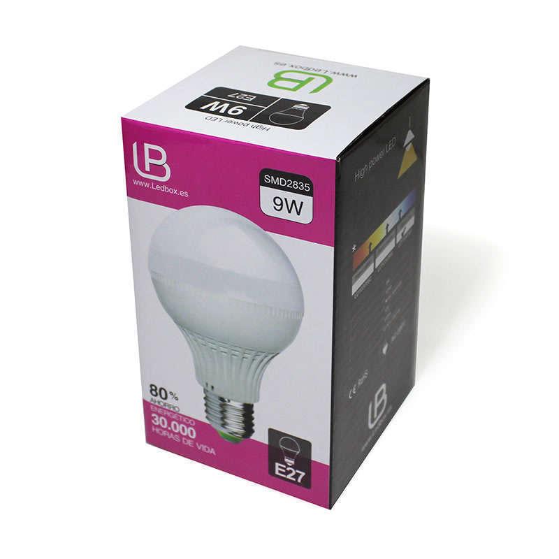 Bombilla LED E27 9W