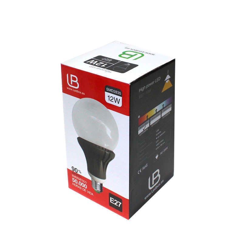 Bombilla LED E27 270º 12W