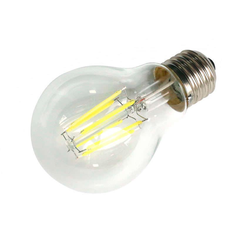 Bombilla LED E27 COB filamento 6W