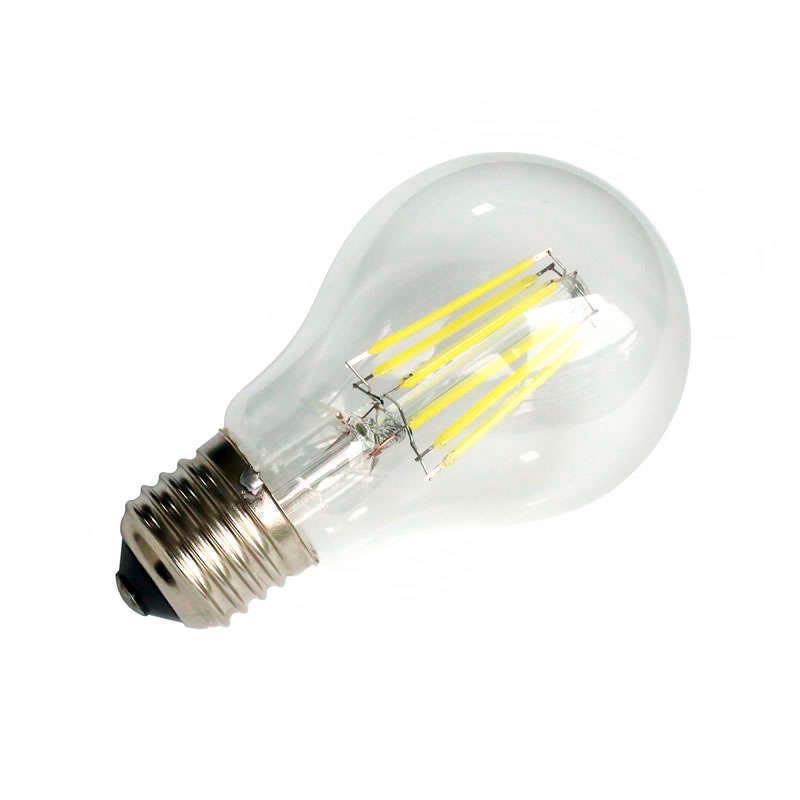 Bombilla led e27 cob filamento 8w regulable ledbox - Bombillas led osram ...