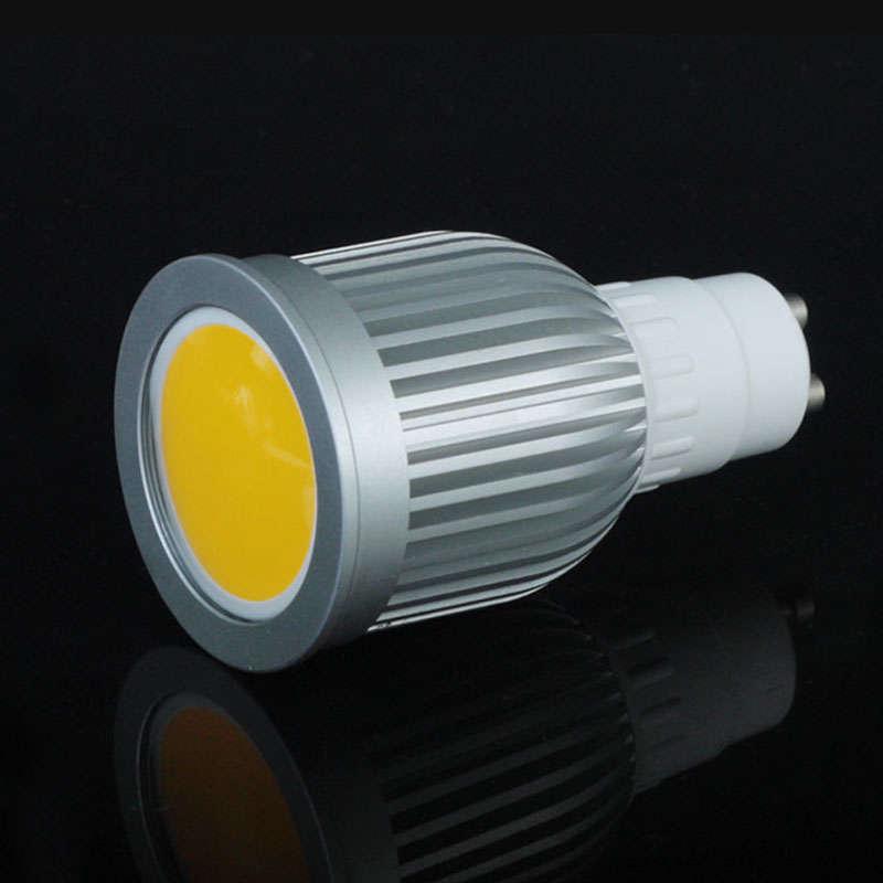 Bombilla LED GU10-COB, 9W, 120º