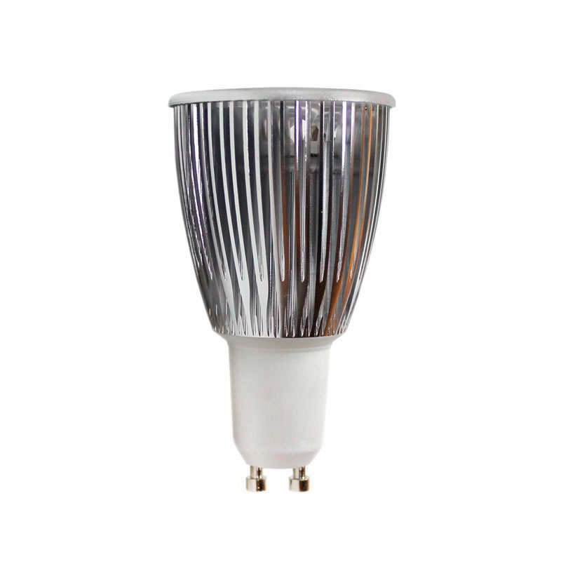 Bombilla LED GU10 6W,  high power, Regulable