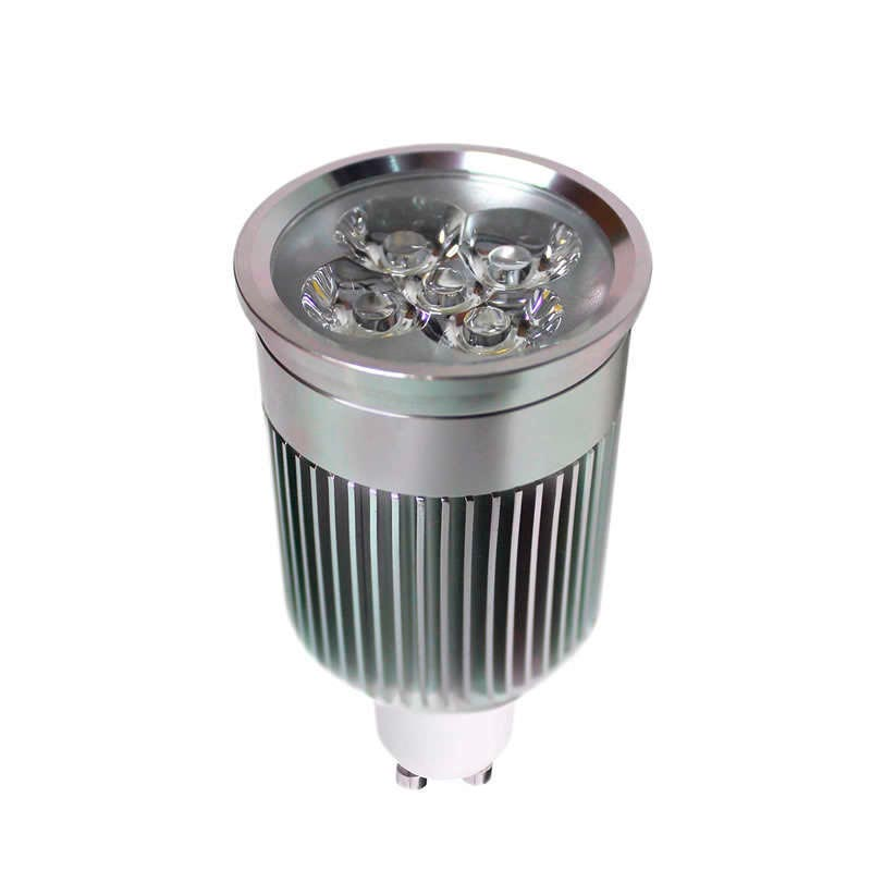Ampoule GU10 LED,  6W haute puissance PRO