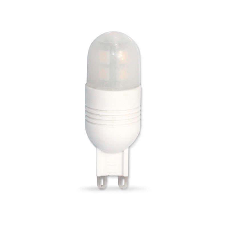 Bombilla G9, 12xSMD2835, 3W, 250º