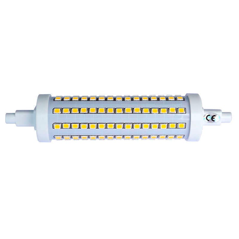 Bombilla LED R7S, 12W, 135xSMD2835, 360º, 135mm