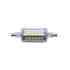 Bombilla LED R7S, 5W, 36xSMD2835, 360º, 78mm. Encapsulado de cristal, Blanco frío
