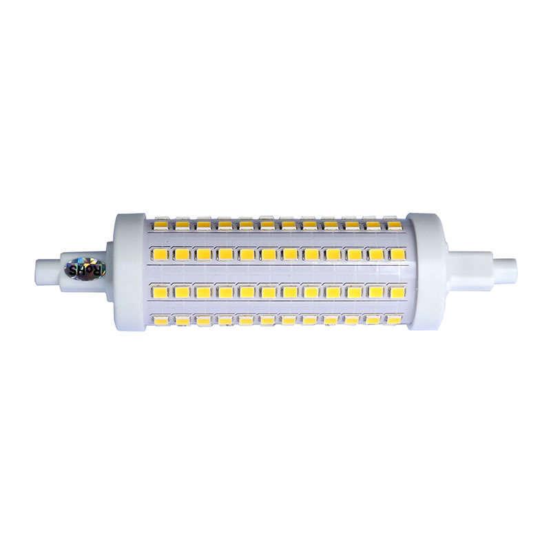 Bombilla LED R7S, 10W, 108xSMD2835, 360º, 118mm