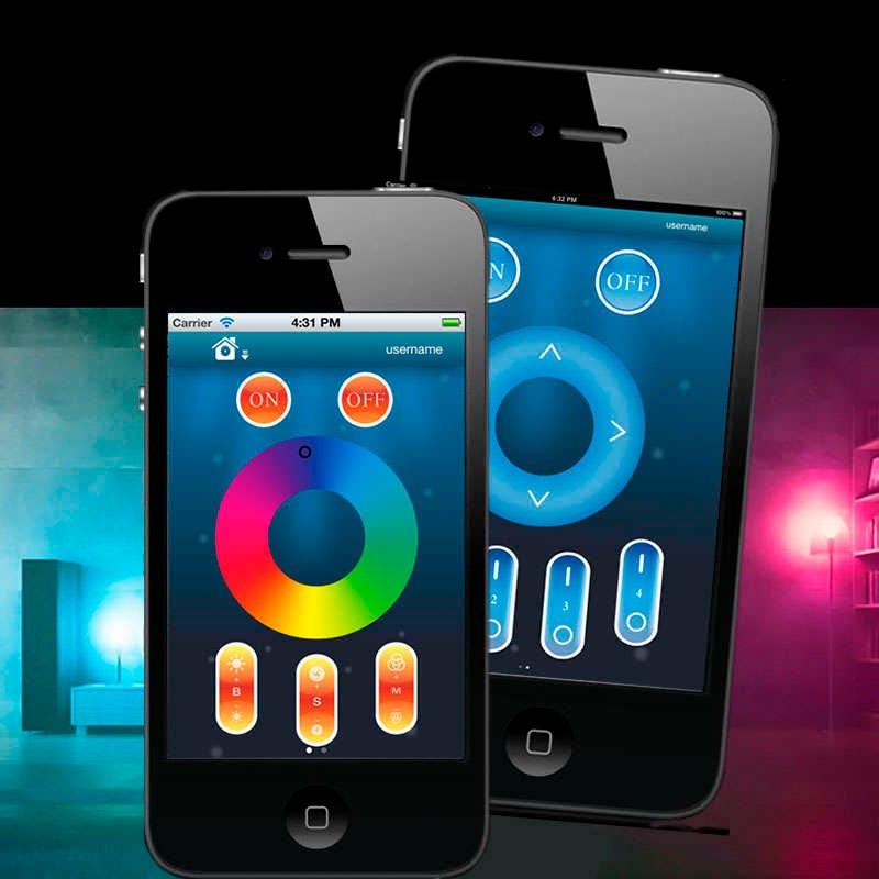Bombilla led WiFi E27 Bulb 6W RGB+Blanco frío