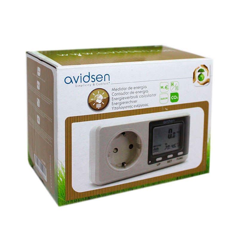 Controlador medidor de consumo de electricad Avidsen