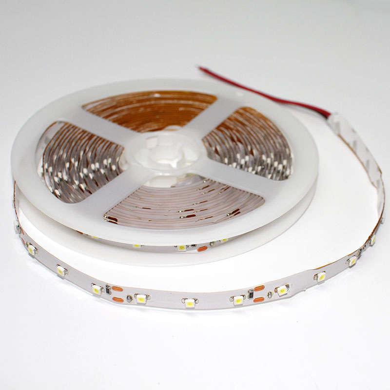 Tira LED BASIC SMD3528, DC12V, 5m (60 Led/m) - IP20