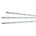 Tira LED rígida EPISTAR SMD2835, DC24V, 1m (90Led/m) - IP20, Blanco cálido