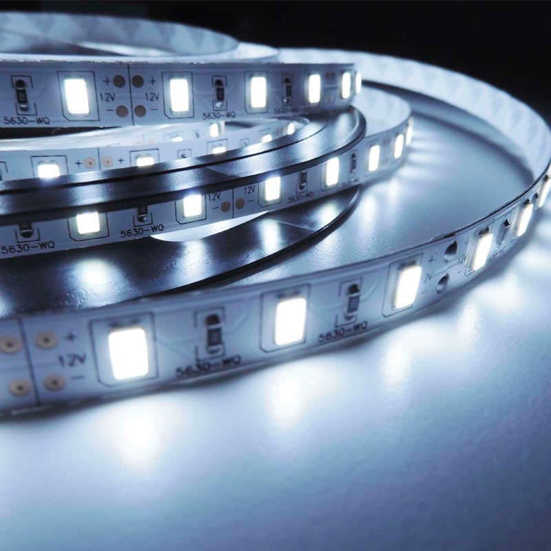 Tira LED BASIC SMD5630, DC12V, 5m (60Led/m) - IP20