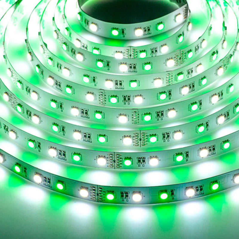 Tira LED EPISTAR SMD5050, RGB+NW, DC24V, 5m (60Led/m) - IP20