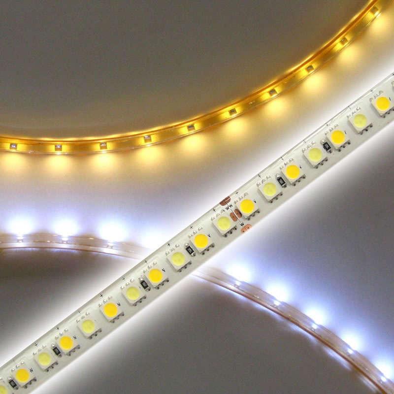 LED Strip Dual White SMD5050 KIT, 5m (120Led/m) - IP20