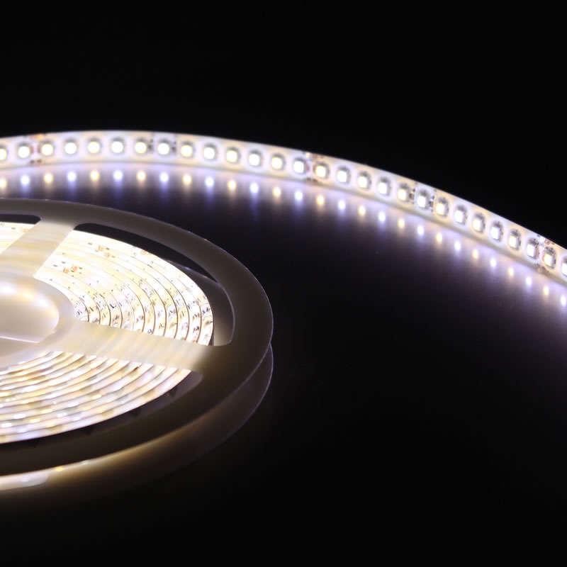 KIT tira LED flexible SMD5050, 5m (120 Led/m), blanco DUAL - IP20