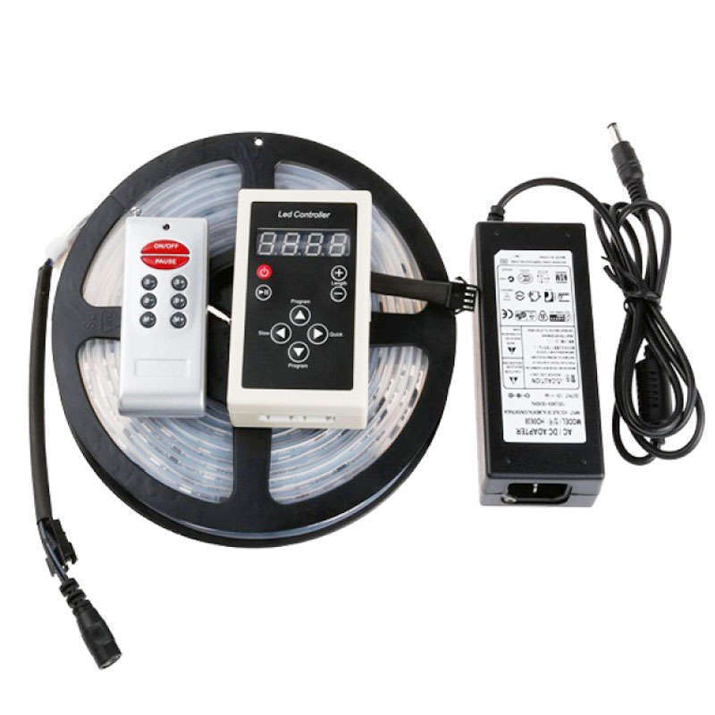 KIT MAGIC LED Bande SMD5050, 5m (30 Led/m), RGB - IP67